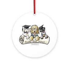 Doodle Prep School II Ornament (Round)