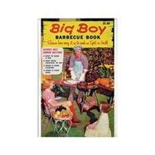 "Frig. Magnet - ""Big Boy BBQ Book"""