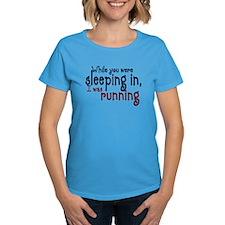 sleepin in copy T-Shirt