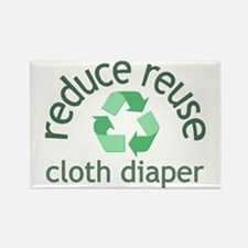 Recycle & Cloth Diaper - Rectangle Magnet
