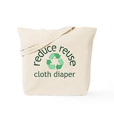 Recycle & Cloth Diaper - Tote Bag