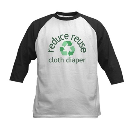 Recycle & Cloth Diaper - Kids Baseball Jersey