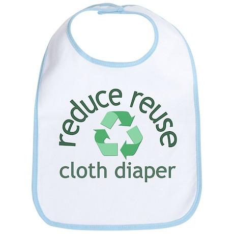 Recycle & Cloth Diaper - Bib