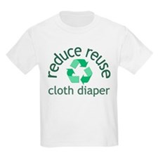 Recycle & Cloth Diaper - T-Shirt