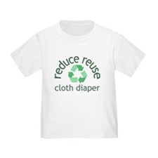 Recycle & Cloth Diaper - T