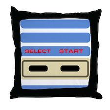 Close-up Controller Throw Pillow