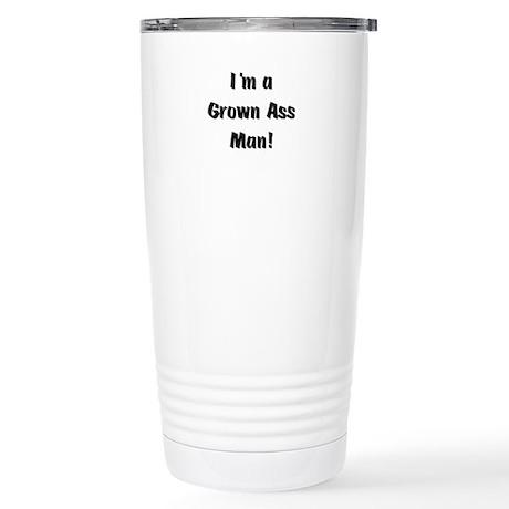 Grown Ass Man Stainless Steel Travel Mug