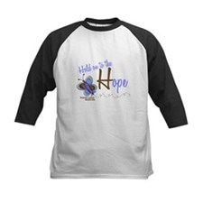 Hold On To Hope 1 Butterfly 2 PrC Tee