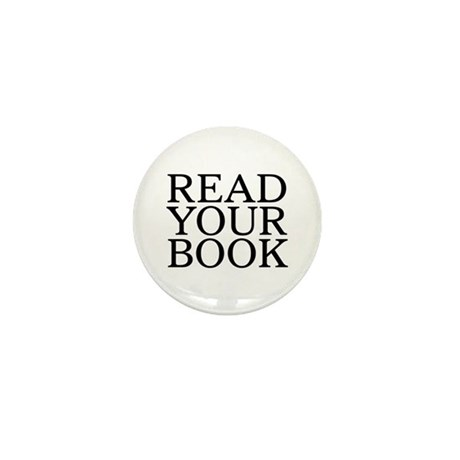 Read Your Book Mini Button (10 pack)