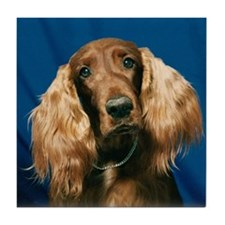 """Irish Setters - B3"" Tile Coaster"