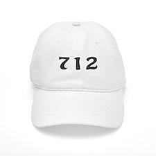 712 Area Code Baseball Baseball Cap