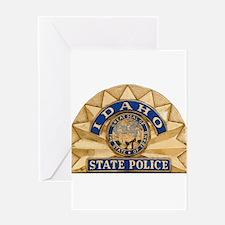 Idaho State Police Greeting Card