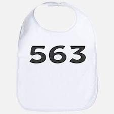 563 Area Code Bib