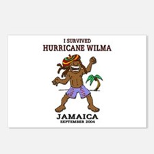 Jamaica Hurricane Wilma Postcards (Package of 8)