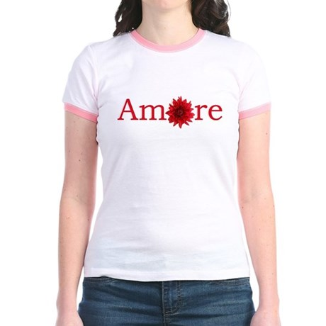 Amore Jr. Ringer T-Shirt