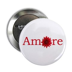 """Amore 2.25"""" Button"""