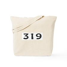319 Area Code Tote Bag