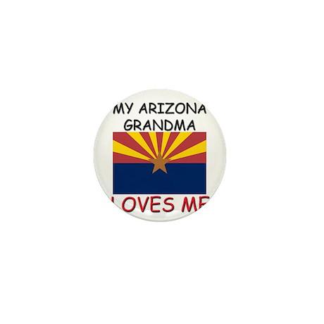 My Arizona Grandma Loves Me Mini Button (10 pack)