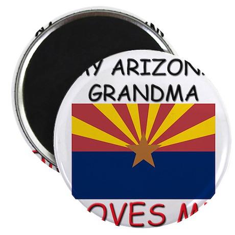 "My Arizona Grandma Loves Me 2.25"" Magnet (10 pack)"
