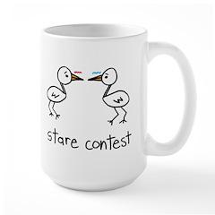 Stare Contest Large Mug