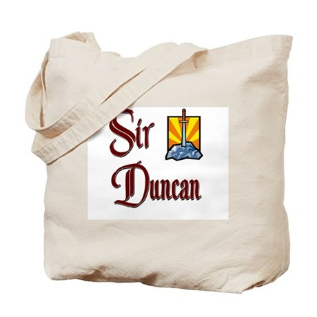 Sir Duncan Tote Bag