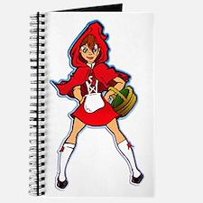 Cute Little red riding hood Journal
