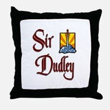 Sir Dudley Throw Pillow