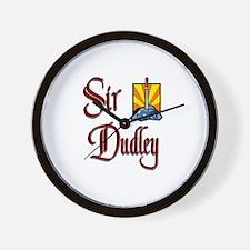 Sir Dudley Wall Clock