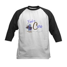 Find A Cure 1 Butterfly 2 PrC Tee