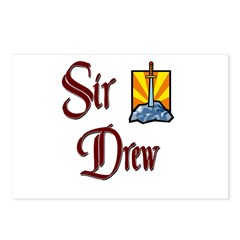 Sir Drew Postcards (Package of 8)