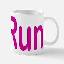 iRun pink Mug