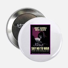 Say no to war Button