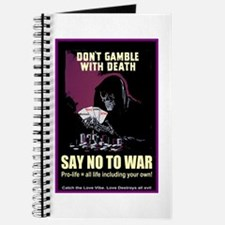 Say no to war Journal