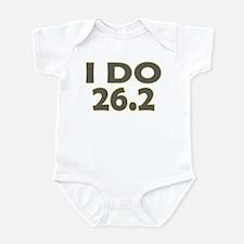 I Do 26.2 Infant Bodysuit