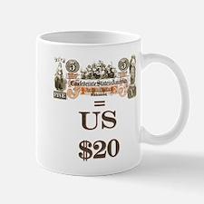 Save your Confederate money Mug