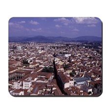Aerial View of Florence, Italy - Photo Mousepad