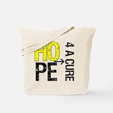 Hope Cure Sarcoma Tote Bag