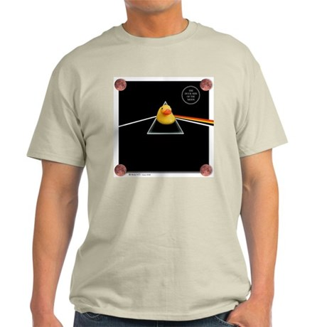 Duck Side of the Moon Album Light T-Shirt