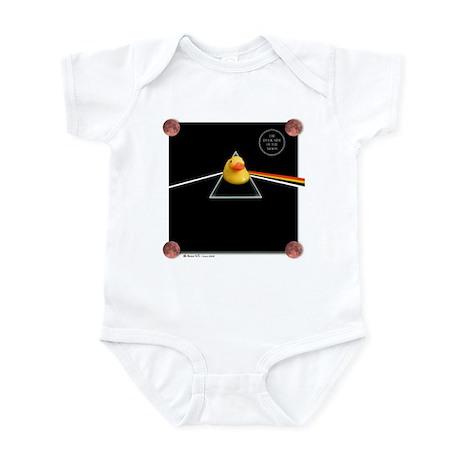 Duck Side of the Moon Black Infant Bodysuit