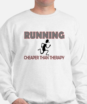 Running Cheaper Than Therapy Jumper