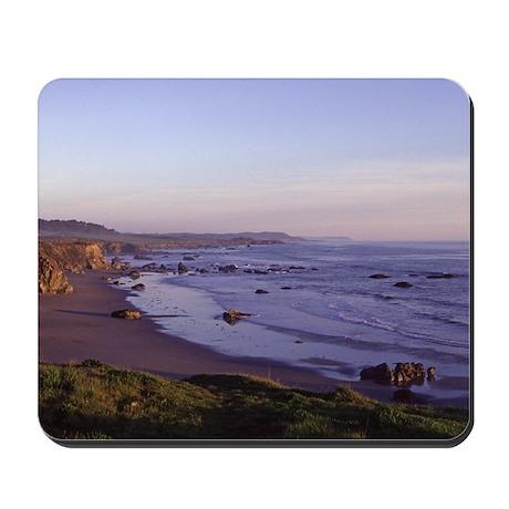 San Simeon California Coastline - Photo Mousepad