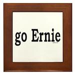 go Ernie Framed Tile