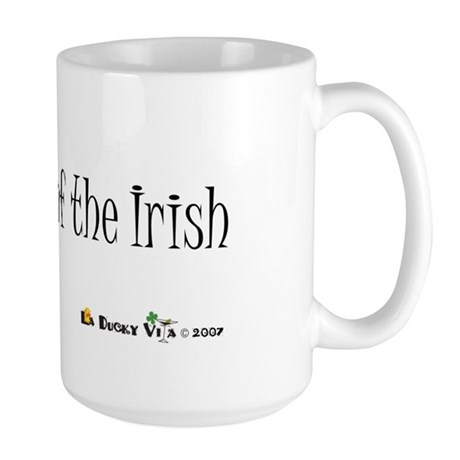 Duck of the Irish Large Mug