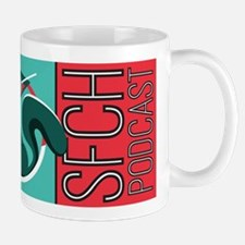 Sfch Podcast Squirrel Logo Mugs