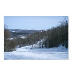 Ski Hill Postcards (Package of 8)