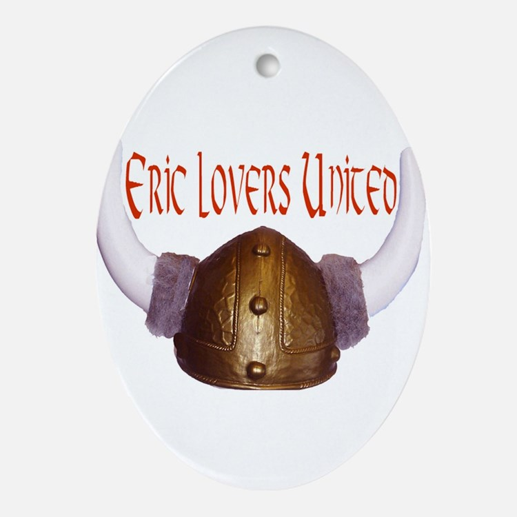 Cute Eric Oval Ornament