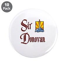 "Sir Donovan 3.5"" Button (10 pack)"