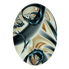 Infinite Jest Fractal Art Oval Ornament