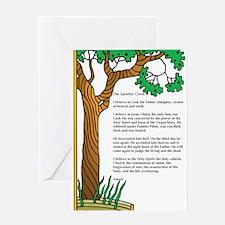 Apostles' Creed Tree of Life Greeting Card