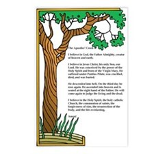 Apostles' Creed Tree of Life Postcards (Package of